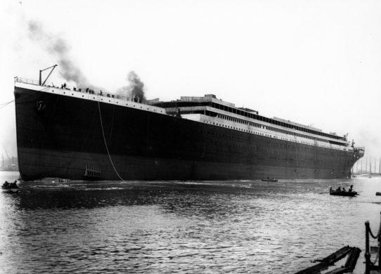 famous sunken ships